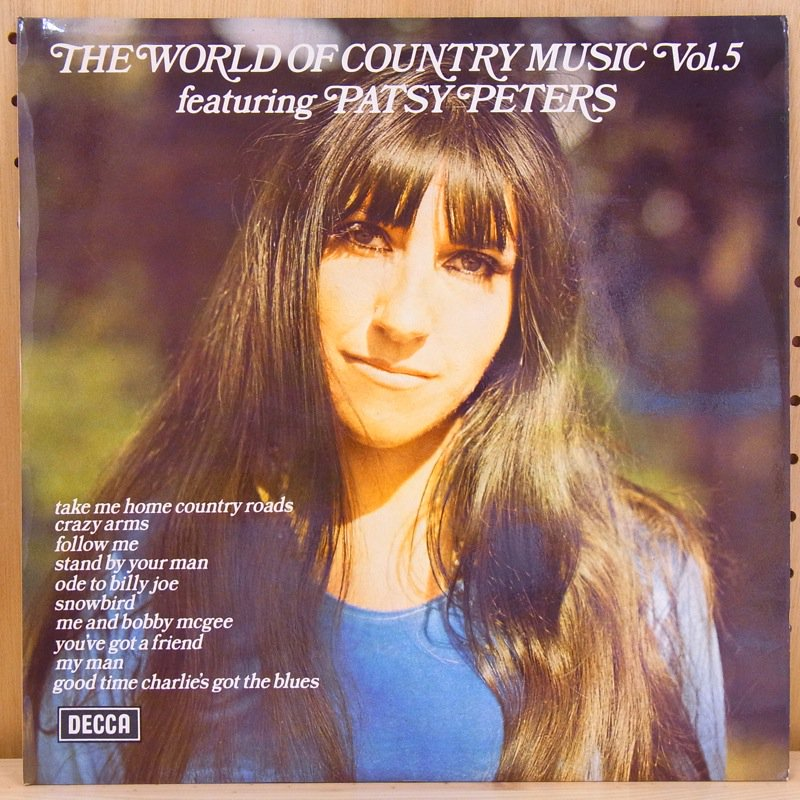 PATSY PETERS - THE WORLD OF COUNTRY MUSIC VOL.5 FEATURING PATSY PETERS - LP
