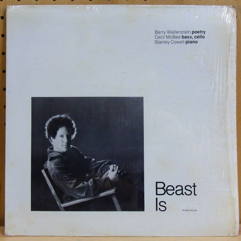 BARRY WALLENSTEIN - BEAST IS - LP