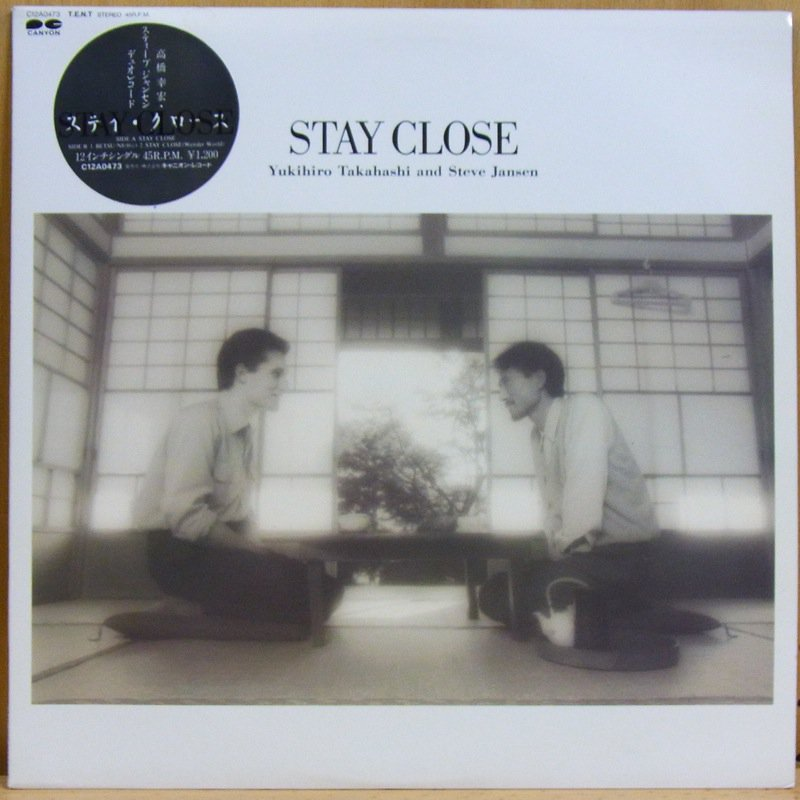 高橋ユキヒロ YUKIHIRO TAKAHASHI AND STEVE JANSEN - EVE JANSEN / STAY CLOSE - LP
