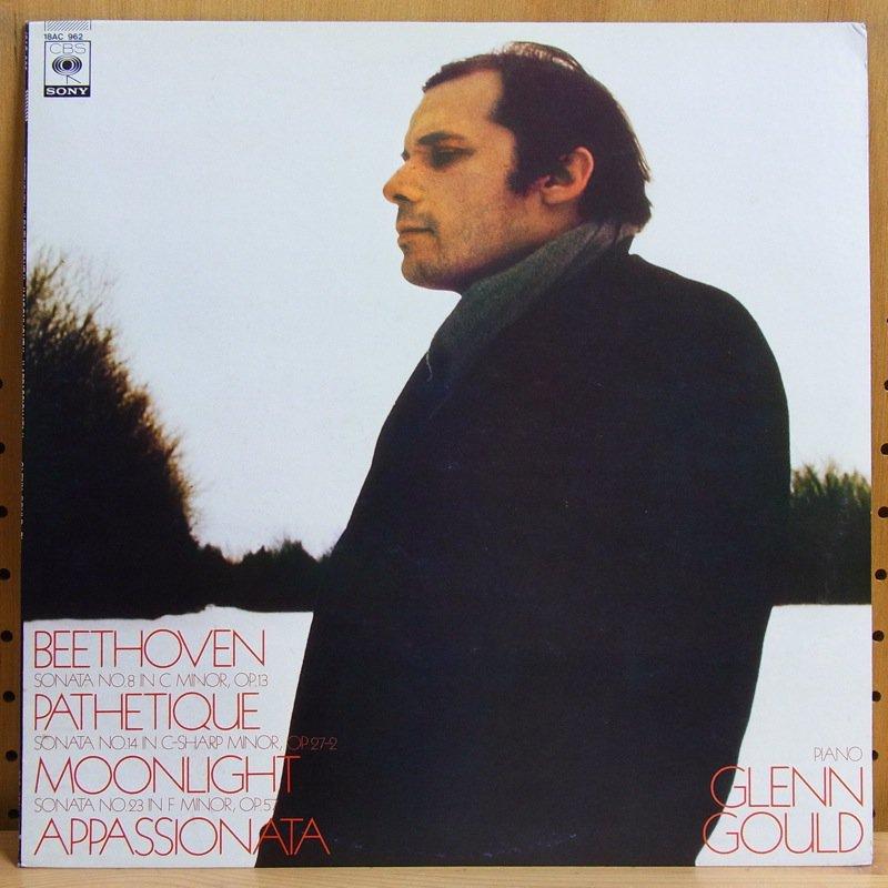BEETHOVEN : PATHETIQUE - MOONLIGHT - APPASSIONATA - - APPASSIONATA / GLENN GOULD グレン・グールド - LP