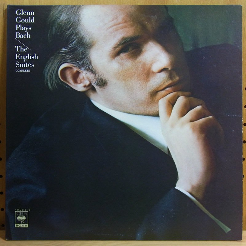 BACH : THE ENGLISH SUITES (COMPLETE) - TES (COMPLETE) / GLENN GOULD グレン・グールド - Double LP Gatefold