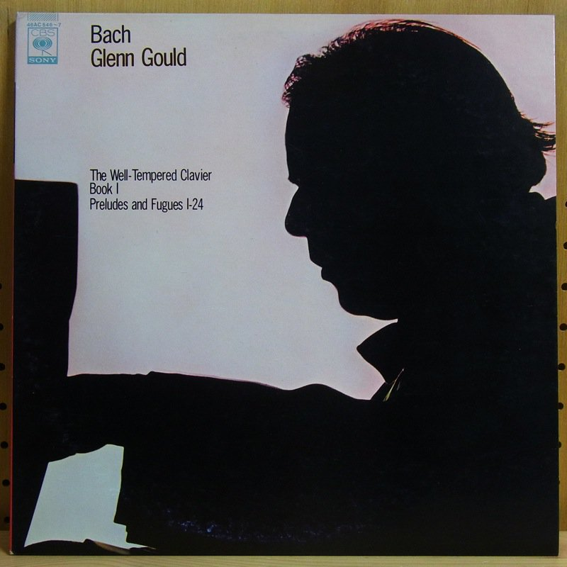BACH : THE WELL-TEMPERED CLAVIER, BOOK 1 - PRELUDE - GLENN GOULD - Double LP Gatefold