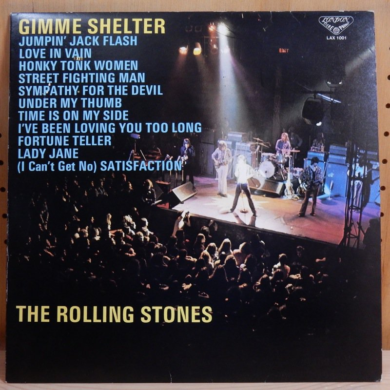 THE ROLLING STONES ローリング・ストーンズ - THE ROLLING STONES ローリング・ストーンズ / GIMME SHELTER ギミー・シェルター - LP