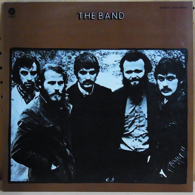 THE BAND ザ・バンド - THE BAND ザ・バンド / THE BAND ザ・バンド - 33T
