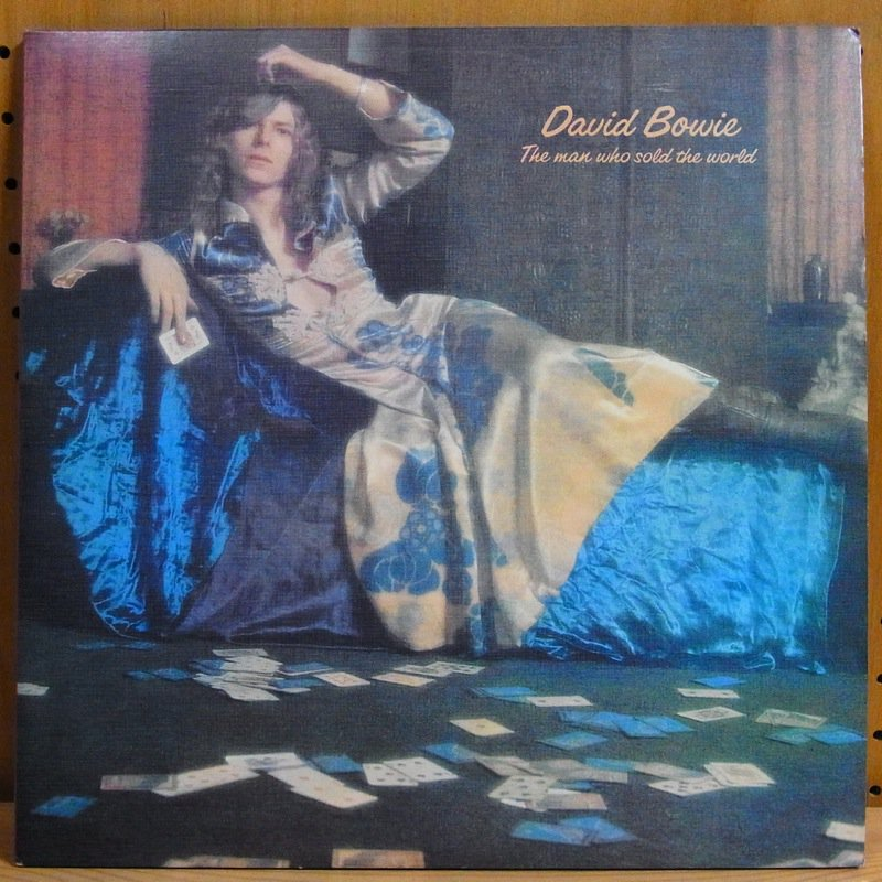 DAVID BOWIE - THE MAN WHO SOLD THE WORLD - Double 33T Gatefold