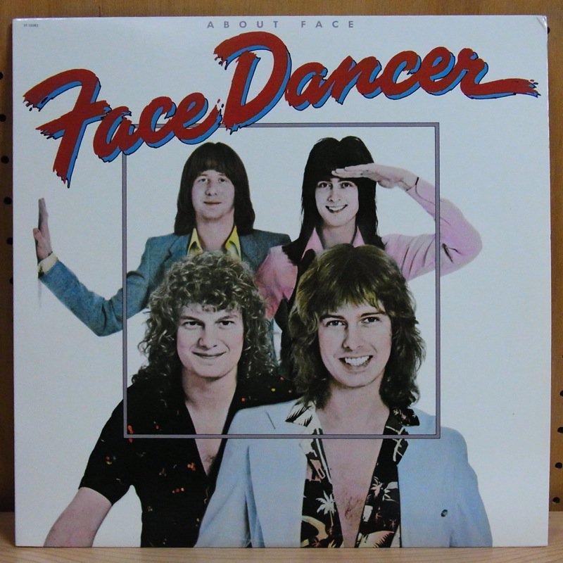 FACE DANCER - ABOUT FACE - 33T