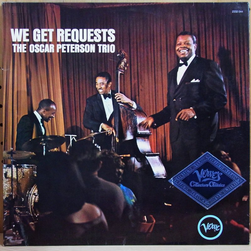 THE OSCAR PETERSON TRIO - WE GET REQUESTS - 33T