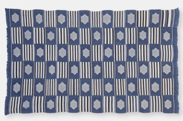 Kente Cloth ガーナ エウェ族のケンテ布 ケンテクロス 藍染