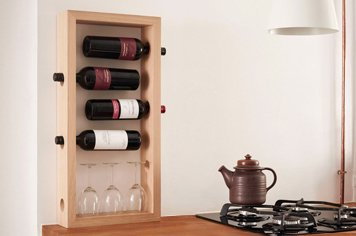 NORRMADE FRAME Wine Holder ノルメイド フレーム ワインホルダー
