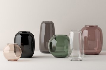 Lyngby Lyngby Porcelain<br />         リュンビューポーセリン フラワーベース