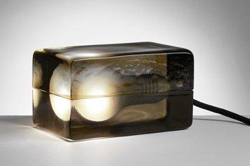 DESIGN HOUSE STOCKHOLM BLOCK LAMP SMOKE デザインハウスストックホルム ブロックランプ スモーク
