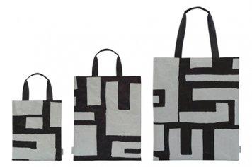 SIWA | 紙和×柚木沙弥郎 SAMIRO YUNOKIM バッグフラット