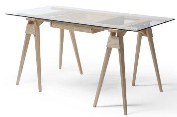 design house stock holm ガラステーブル