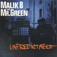 "MALIK B & MR GREEN""UNPREDICTABLE"" -LP-"