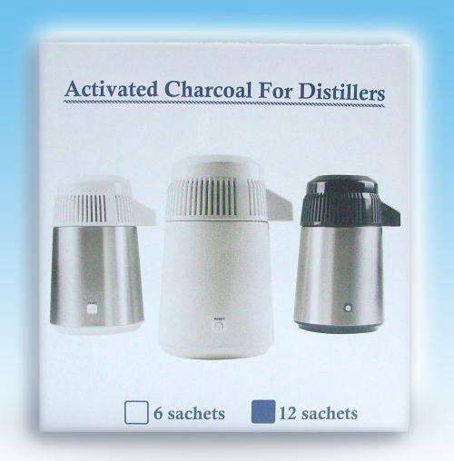 蒸留水器専用・活性炭(12個入り)