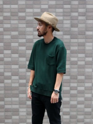 【FLISTFIA】 Short Sleeve Sweater