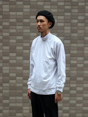 【CAMBER】 MOCK L/S FINEST 6oz