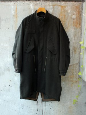 <img class='new_mark_img1' src='//img.shop-pro.jp/img/new/icons15.gif' style='border:none;display:inline;margin:0px;padding:0px;width:auto;' />【bukht】 FISHTAIL COAT