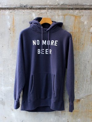 <img class='new_mark_img1' src='//img.shop-pro.jp/img/new/icons15.gif' style='border:none;display:inline;margin:0px;padding:0px;width:auto;' />【TACOMA FUJI RECORDS】 NO MORE BEER HOODIE (12oz)  designed by Noriteru Minezaki