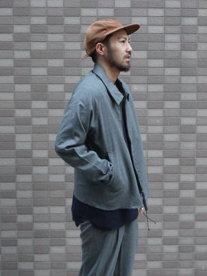 <img class='new_mark_img1' src='//img.shop-pro.jp/img/new/icons15.gif' style='border:none;display:inline;margin:0px;padding:0px;width:auto;' />【bukht】 DROP COLLAR BLOUSON
