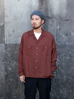 <img class='new_mark_img1' src='//img.shop-pro.jp/img/new/icons15.gif' style='border:none;display:inline;margin:0px;padding:0px;width:auto;' />【bukht】 OPEN COLLAR SHIRTS