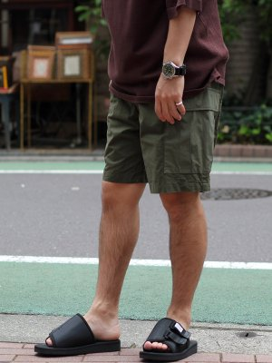 <img class='new_mark_img1' src='//img.shop-pro.jp/img/new/icons15.gif' style='border:none;display:inline;margin:0px;padding:0px;width:auto;' />【YARDAGE】 Army Wide Short Pants