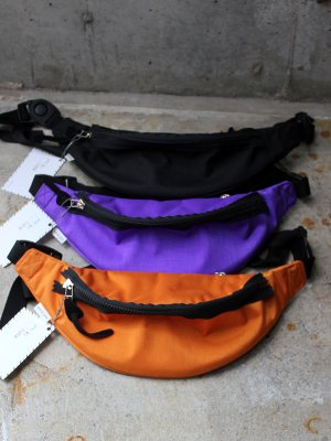 <img class='new_mark_img1' src='//img.shop-pro.jp/img/new/icons15.gif' style='border:none;display:inline;margin:0px;padding:0px;width:auto;' />【kiruna】  WAIST BAG  -3色展開-