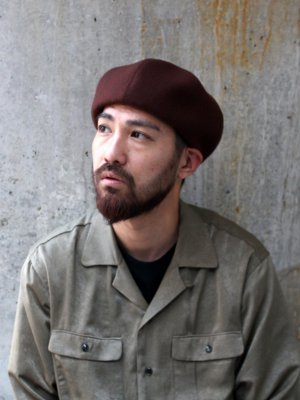 <img class='new_mark_img1' src='//img.shop-pro.jp/img/new/icons15.gif' style='border:none;display:inline;margin:0px;padding:0px;width:auto;' />【Racal】 8Panel Beret -4色展開-