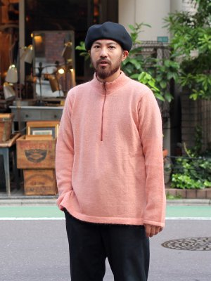 <img class='new_mark_img1' src='//img.shop-pro.jp/img/new/icons15.gif' style='border:none;display:inline;margin:0px;padding:0px;width:auto;' />【bukht】 MOHAIR ZIP MOCK NECK  -3色展開-