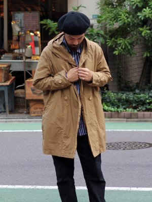 【Manual Alphabet】 WANDER COAT overdye -3色展開-
