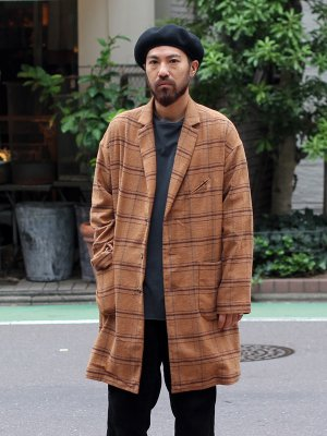 <img class='new_mark_img1' src='//img.shop-pro.jp/img/new/icons15.gif' style='border:none;display:inline;margin:0px;padding:0px;width:auto;' />【Manual Alphabet】 SMOKER COAT CHECK -2色展開-