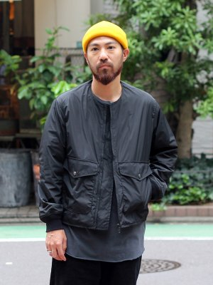 <img class='new_mark_img1' src='//img.shop-pro.jp/img/new/icons15.gif' style='border:none;display:inline;margin:0px;padding:0px;width:auto;' />【Manual Alphabet】 NYLON FLIGHT JACKET -2色展開-