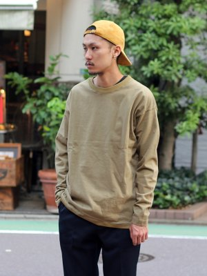 【KICS DOCUMENT.】  PE RIB CREW NECK P/O -1色展開-