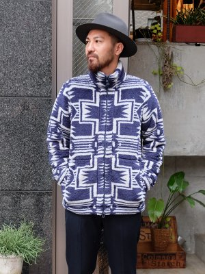 <img class='new_mark_img1' src='//img.shop-pro.jp/img/new/icons15.gif' style='border:none;display:inline;margin:0px;padding:0px;width:auto;' />【snow peak】 Printed Fleece Jacket -2色展開-