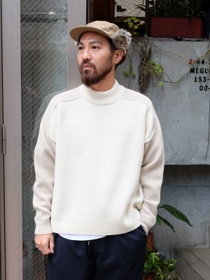 <img class='new_mark_img1' src='//img.shop-pro.jp/img/new/icons15.gif' style='border:none;display:inline;margin:0px;padding:0px;width:auto;' />【WRAPINKNOT】REVERSIBLE KNIT  -3色展開-