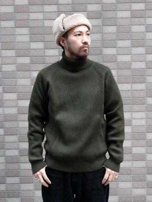 <img class='new_mark_img1' src='//img.shop-pro.jp/img/new/icons15.gif' style='border:none;display:inline;margin:0px;padding:0px;width:auto;' />【VINCENT ET MIREILLE 】TURTLE NECK SWEATER 8GG AZE  -3色展開-
