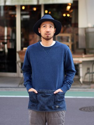 【snow peak】 Camping Indigo Sweat