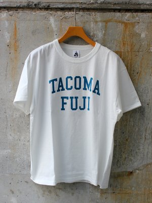 【TACOMA FUJI RECORDS】 TACOMA FUJI RECORDS COLLGE LOGO designed by Shuntaro Watanabe -2色展開-