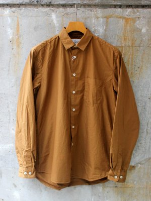 【Manual Alphabet】 LOOSE FIT REGULAR COLLAR SHT -2色展開-