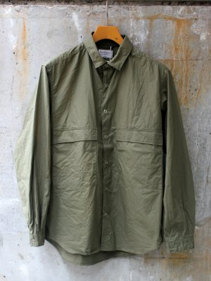 【Manual Alphabet】 TWILL FATIGUE SHT  -3色展開-