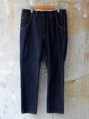【bukht】NEW SLIM TAPERED 5P JEANS  -2色展開-