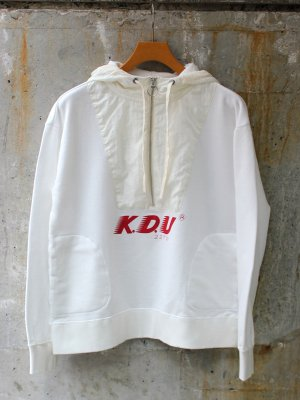 <img class='new_mark_img1' src='//img.shop-pro.jp/img/new/icons15.gif' style='border:none;display:inline;margin:0px;padding:0px;width:auto;' />【KICS DOCUMENT.】BI COL ZIP HOODIE -2色展開-