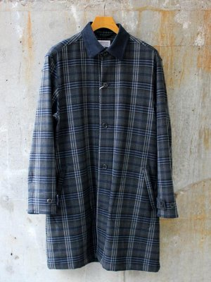 <img class='new_mark_img1' src='//img.shop-pro.jp/img/new/icons15.gif' style='border:none;display:inline;margin:0px;padding:0px;width:auto;' />【Manual Alphabet】 MONALUCE SINGLE TARTAN COAT