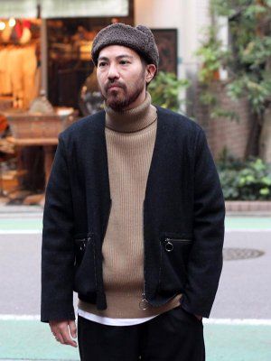 <img class='new_mark_img1' src='//img.shop-pro.jp/img/new/icons15.gif' style='border:none;display:inline;margin:0px;padding:0px;width:auto;' />【bukht】 MILLING WOOL JKT