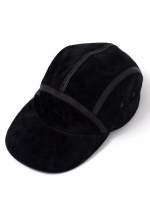 【Indietro Association】insideout suede long bill cap -2色展開-