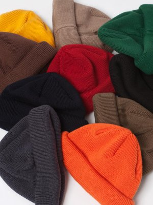 <img class='new_mark_img1' src='//img.shop-pro.jp/img/new/icons15.gif' style='border:none;display:inline;margin:0px;padding:0px;width:auto;' />【Racal】Roll Knit CAP -10色展開-