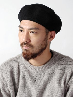 <img class='new_mark_img1' src='//img.shop-pro.jp/img/new/icons15.gif' style='border:none;display:inline;margin:0px;padding:0px;width:auto;' />【Racal】Classic knit Beret -4色展開-