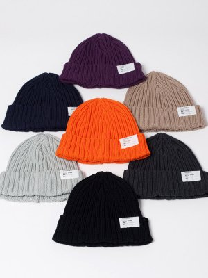 <img class='new_mark_img1' src='//img.shop-pro.jp/img/new/icons15.gif' style='border:none;display:inline;margin:0px;padding:0px;width:auto;' />【Racal】 Standard Knit CAP 19Autumn  -7色展開-