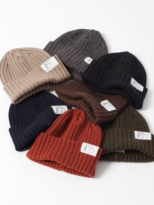 <img class='new_mark_img1' src='//img.shop-pro.jp/img/new/icons15.gif' style='border:none;display:inline;margin:0px;padding:0px;width:auto;' />【Racal】 Standard Knit CAP 19Winter  -7色展開-