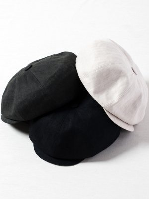<img class='new_mark_img1' src='//img.shop-pro.jp/img/new/icons15.gif' style='border:none;display:inline;margin:0px;padding:0px;width:auto;' />【Racal】Linen Huge Casquette / リネンヒュージキャスケット -3色展開-